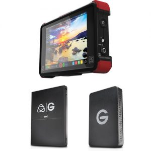 Atomos Ninja Flame with 1TB G-Technology SSD Kit