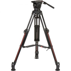 Cartoni Focus 12 Fluid Head with 2-Stage Aluminum Smart-Stop SDS Tripod System