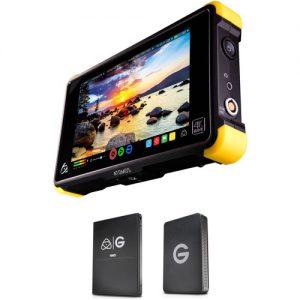 Atomos Shogun Flame with 512GB G-Technology SSD Kit