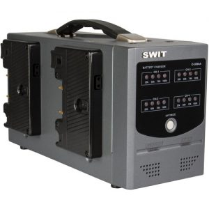 SWIT D-3004A Gold Mount Charger for Gold Mount Batteries (4-Channel)