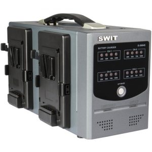 SWIT D-3004S V-Mount Charger for V-Mount Batteries (4-Channel)