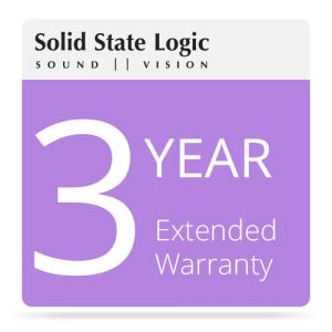 Solid State Logic Warranty - technostore