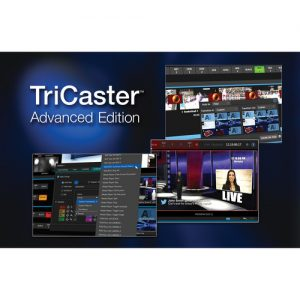 NewTek TriCaster Advanced Edition Software for TriCaster 410 Switchers - technostore