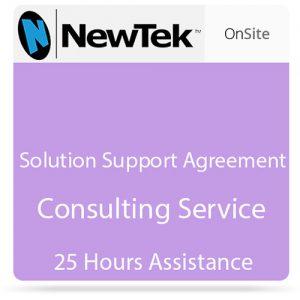 NewTek 25-Hour Solution Support Agreement (Nontaxable)