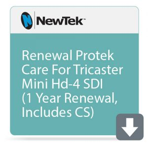 NewTek ProTek Care 1-Year Renewal