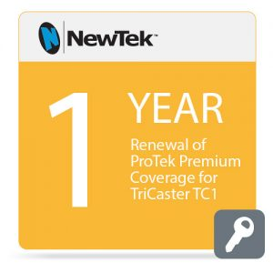 NewTek 1-Year Renewal of ProTek Premium Coverage