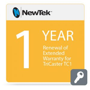 NewTek 1-Year Renewal of Extended Warranty