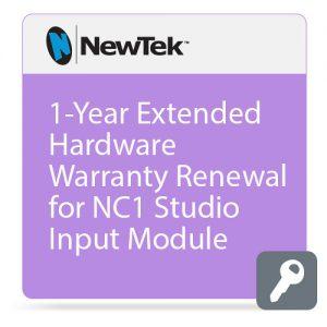 NewTek 1-Year Extended Hardware Warranty