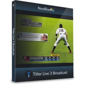 NewTek NewBlueFX Titler Live 3 Broadcast Coupon Code