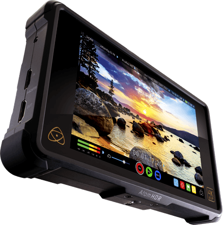 """Atomos Shogun Inferno7"""" HDR monitor/recorder. Record ProRes RAW, ProRes, DNxHR or CDNG"""