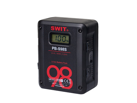 PB-S98S - 98Wh Multi-sockets Square Digital Battery Pack - SWIT