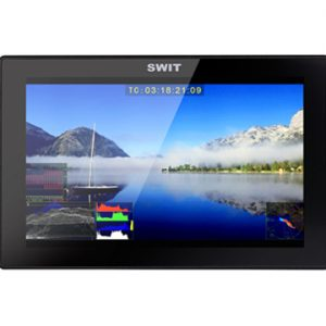 SWIT S-1073F 7-inch FHD Waveform LCD Monitor with JVC SSL Battery Plate