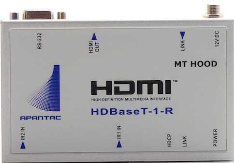 Apantac HDBaseT Extender Receiver HDBT-1-R
