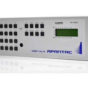 Apantac HDBaseT Matrices with Extenders HDBT-16x16