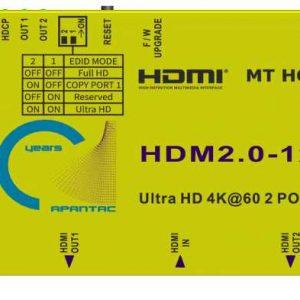 Apantac MT HOOD HDMI 2.0 Splitter2